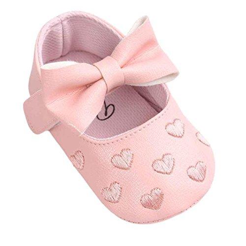 ca143dac5 SamMoSon Zapatos de bebé Invierno Antideslizante Primeros Pasos bebé niña  niño Infantil Zapatos Baby Girl Bow Sneakers Sneakers Antideslizantes  Suaves Solo ...