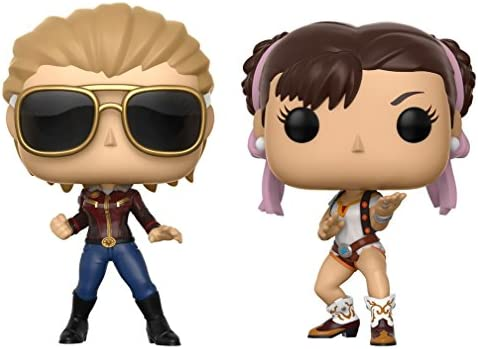 Pack Pop! Marvel Vs Capcom: Infinite - 2 Figuras de Vinilo Captain Marvel Vs. Chun-Li: Funko Pop! Games:: Amazon.es: Juguetes y juegos