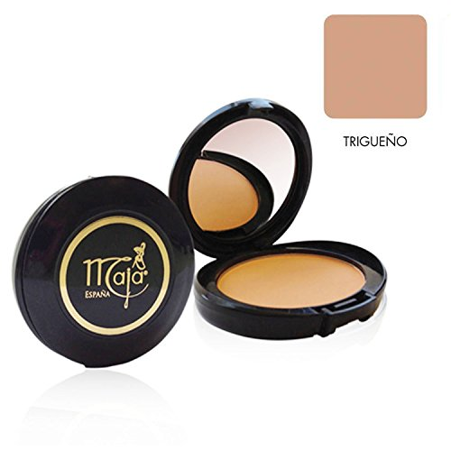 Maja Cream Powder Trigueno .53 Oz. With Mirror-Polvo Crema Compacto Con Espejo