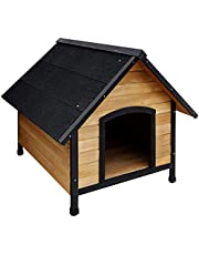 i.Pet Dog Kennel Wooden Pet Puppy House Timber House Indoor Outdoor Large