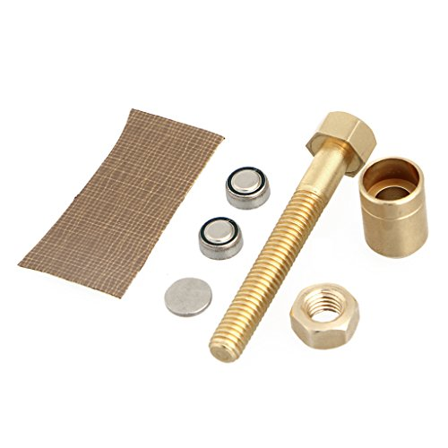 HOWWOH Magic Prop, Props Autorotation Rotating Nut Off Bolt Screw Close Up Magic Gimmick Trick