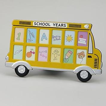 Amazoncom Yellow School Bus Frame Holds 12 15 X 2 Photos