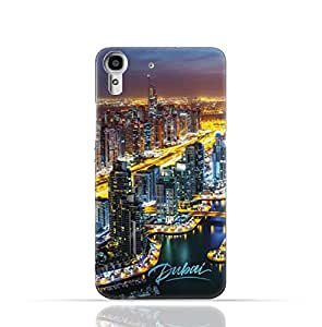 Hauwei Y6 / Huawei Honor 4A TPU Silicone Case with Dubai Marina Design