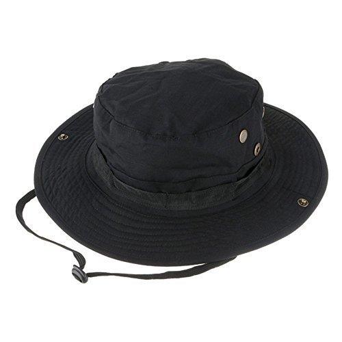 アウトドアスポーツSunキャップ、迷彩ハンター帽子、Sniper Combatキャップ、ラウンドリム帽子釣りトレッキングキャンプハイキングのHead Wear帽子ユニセックスガールズメンズレディース   B071RWFB3C