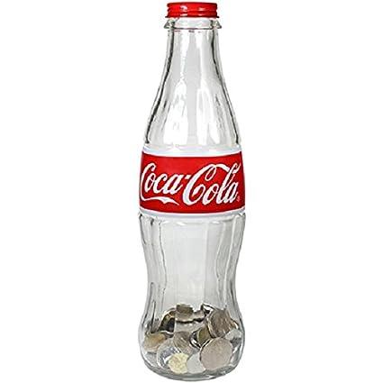 Coca Cola – 12 inch cristal contorno botella banco
