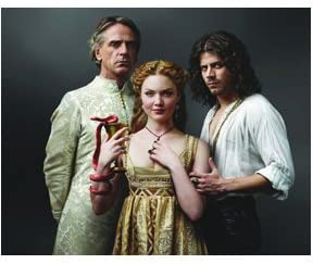 The Borgias 8 Inch X 10 Inch Photo Jeremy Irons Rodrigo Lucrezia