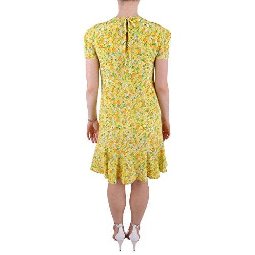 40 Abito moschino Boutique Stampa con Seta Yellow A0431 in Multicolor SIZE vFw5xZq6