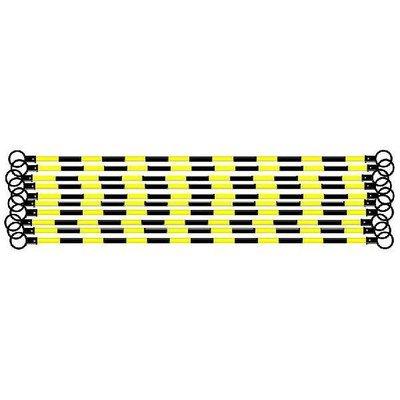 シバタ コーンバー コーン用バー 黒 黄反射 工事保安用品 50本セット B01HE4ZWVQ