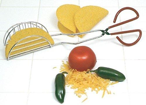 Norpro Taco Press Shell Maker Tong Tortilla Fryer 1061