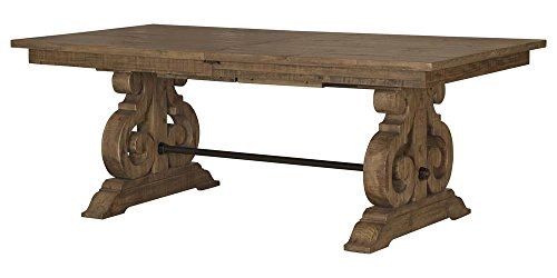 Magnussen Rectangular Dining Table in Weathered Barley