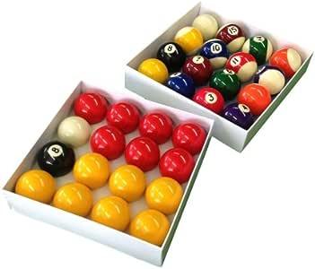 Paquete doble de la competencia 5,08 cm bolas de billar (Inglés y ...