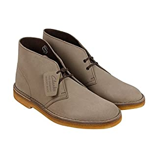 Clarks Men's Desert Boot Wolf Suede 8 M (B01K98AT1C) | Amazon price tracker / tracking, Amazon price history charts, Amazon price watches, Amazon price drop alerts