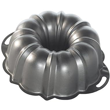 Nordic Ware 50342 ProForm Bundt Pan with Handles, 12 Cup