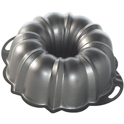 Nordic Ware ProForm Anniversary Bundt Pan with Handles - Nordic Ware Formed Bundt Pan