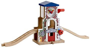 Learning Curve Thomas Wooden Railway Set Thomas And Friends Sodor Clock  Works