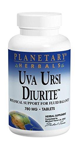 Uva Ursi Diurite 780 mg Planetary Herbals 150 Tabs