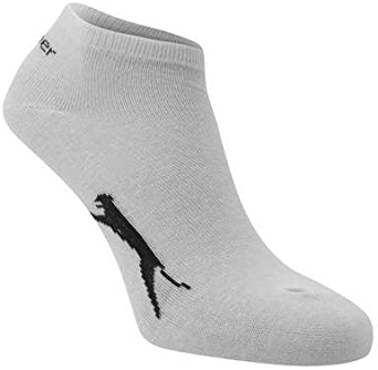 colore: Bianco taglia 40-45 Slazenger Calzini sportivi da uomo