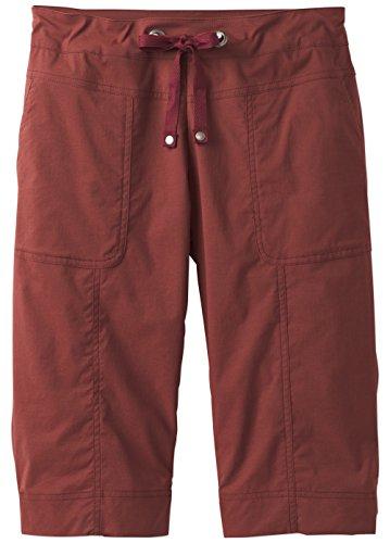 prAna Women's Bliss Knicker Pants, Raisin, Small