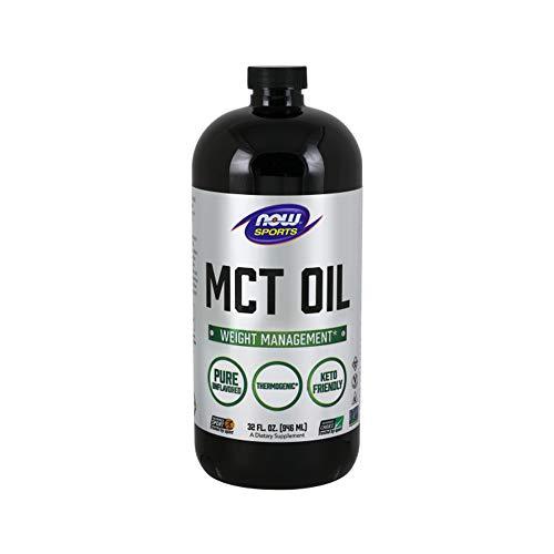 NOW Sports Nutrition, MCT (Medium-chain triglycerides)Oil, Liquid, 32-Ounce