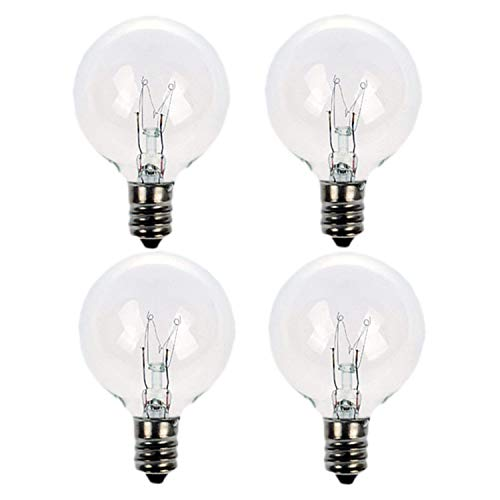 20 Watt Replacement Light Bulbs for Scentsy Mid-Size Warmers,4 Pack