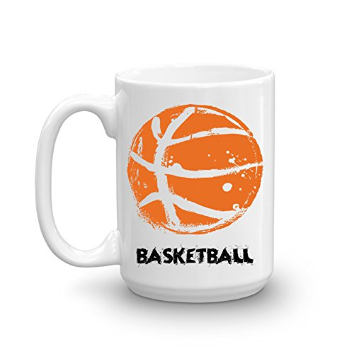 Basketball-Funny Ball Lovers Gift-Cute Men Women Player-Coach Team Present Coffee -