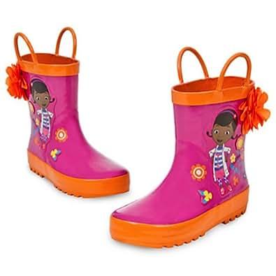 Amazon.com | Disney Store Deluxe Doc McStuffins Rain Boots