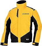 RSタイチ(アールエスタイチ)バイク用レインスーツ イエロー (L) ドライマスターX コンパクトレインスーツ RSR042