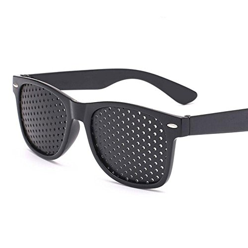 AOLVO Pinhole Vision Correction Glasses,Eyesight Improvement Glasses,Anti-fatigue Glasses for Vision Care (Eye Correcting Care)