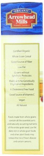 Arrowhead Mills Organic Cereal, Oat Bran Flakes, 12 oz  (Pack of 4)
