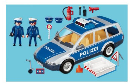 voiture police playmobil 4260. Black Bedroom Furniture Sets. Home Design Ideas