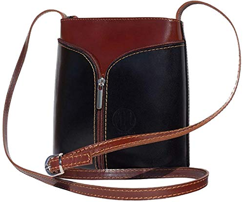 JAENIS NICHOLE- Crossbody bags for women, Genuine Leather Purses, Cross Bags Over the Shoulder Small Crossbody Purses Patent Florence