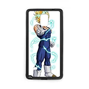 Samsung Galaxy Note 4 Cell Phone Case Black Vegeta Phone Case Cover Plastic Personalized CZOIEQWMXN16002