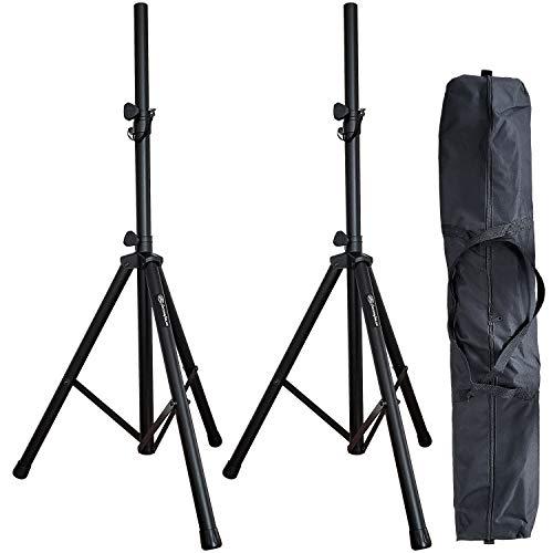 AxcessAbles SSB-101 Speaker Height Adjustable Tripod Stand