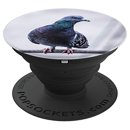 Pigeon bird Birdwatcher - PopSockets Grip and Stand for Phones and Tablets
