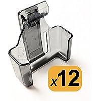 Pager Cradle Belt Clips for LRS Star SP4 Server Pagers (1 dozen)