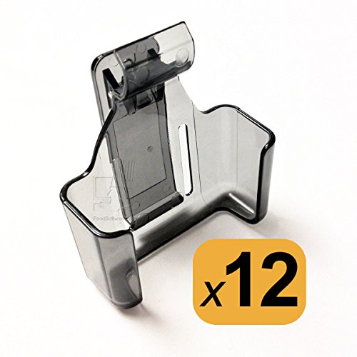 Pager Belt Clip - Pager Cradle Belt Clips for LRS Star SP4 Server Pagers (1 dozen)
