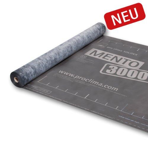 Per clima SOLITEX MENTO 3000 - 1, 50 m x 50 m MOLL bauökologische Produkte GmbH