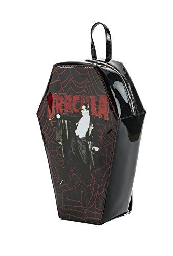 Rock Rebel Dracula Bela Lugosi Coffin Backpack