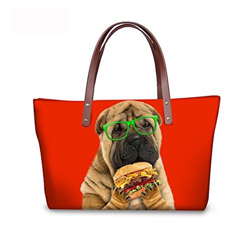 C8wc0586al Casual Women Large Shoulder Handbags Bags FancyPrint xRFqnpwYw