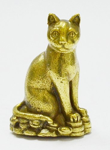 Thai Buddha AMULETS MAGIC Siamese Cat Wealth Rich Lucky Attract Charm Thai Pendants