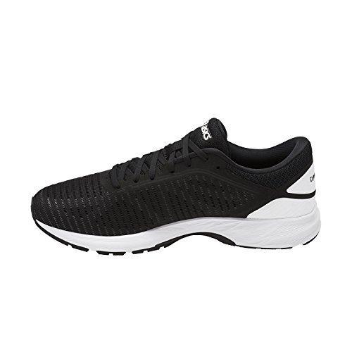 save off cf27e b558b ASICS Men's Performance DynaFlyte 2 Running Shoe - T7D0N.9001  (Black/White/Carbon - 7.5)