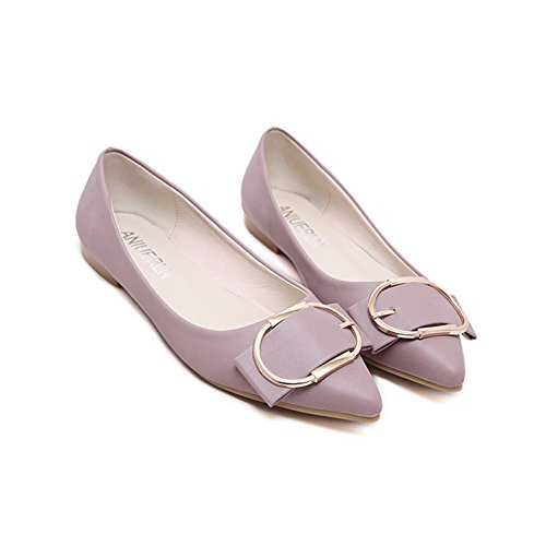 Comfort Ballet Pointed Womens Pink Classic Flats Shoes Toe JULY T Slip Dress on Eg0wqxpO
