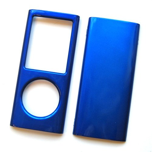 Apple iPod Nano 4 (4th Generation) Snap-On Protector Hard Case Solid Cover (4th Generation Ipod Nano Blue)
