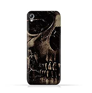 Infinix Hot Note X551 TPU Silicone Protective Case with Dark Skeleton Pattern
