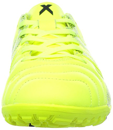 ADIDAS X 15.3 TF LEATHER SCARPE UOMO CALCETTO B33004 YELLOW/YELLOW/BLACK