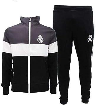 Real Madrid Chándal Completo Oficial C.F: Amazon.es: Deportes y ...