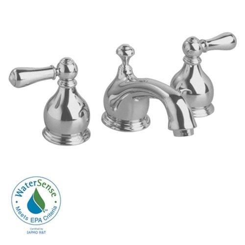 Hampton 8 in. Widespread 2-Handle Low-Arc Bathroom Faucet in Satin Nickel with Speed Connect Pop Up Drain