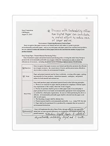 """Sony DPT-RP1/W 13"""" Digital Paper, White - Buy Online in"""