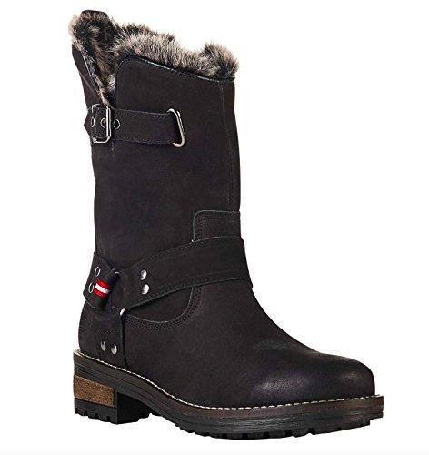 Superdry Women's Tempter Ankle Boots Black (Nero) rKxMO0