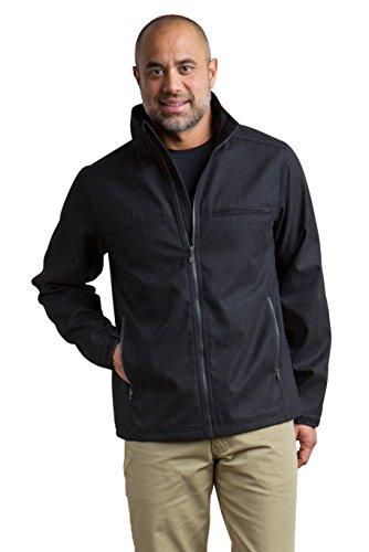 ExOfficio Men's Mackenzie Jacket Long Sleeve, Black, XX-Large by ExOfficio